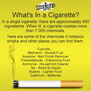 what is in ciggies