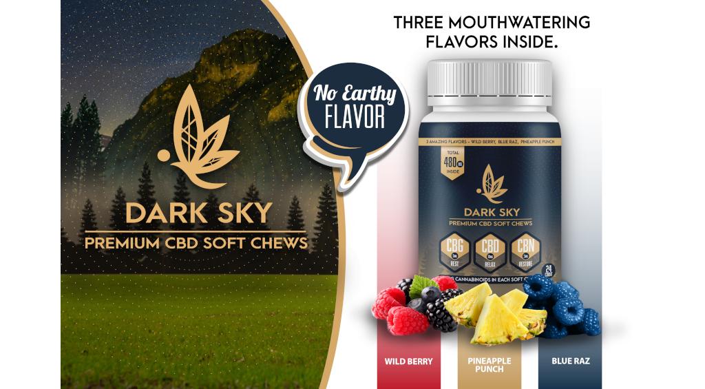 Darky Sky CBD Soft Chews